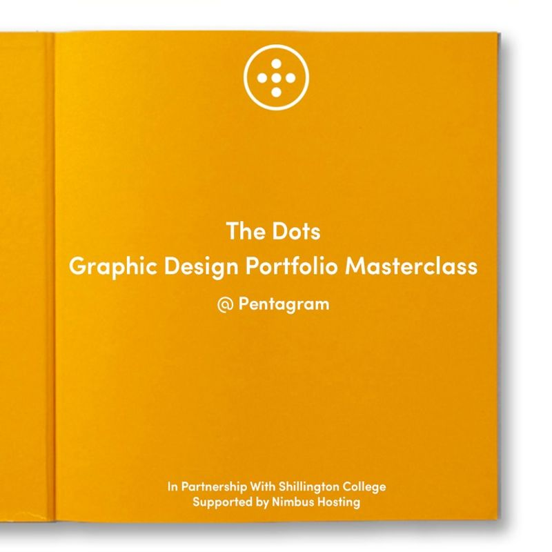 THE DOTS GRAPHIC DESIGN PORTFOLIO MASTERCLASS