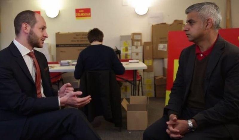 SADIQ KHAN INTERVIEW/ General Election 2015