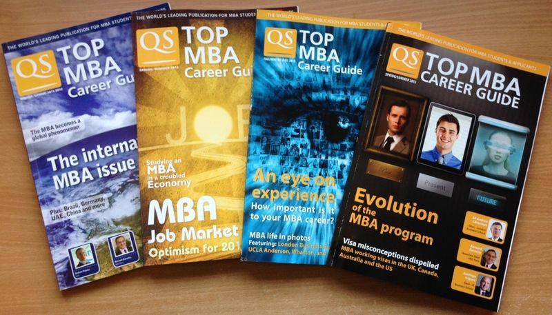 Magazine editorship - QS Top MBA Career Guide
