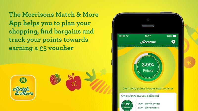 Morrisons Match & More App