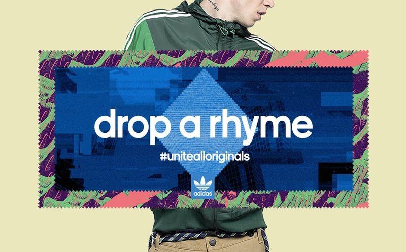 Adidas Originals. Drop a Rhyme