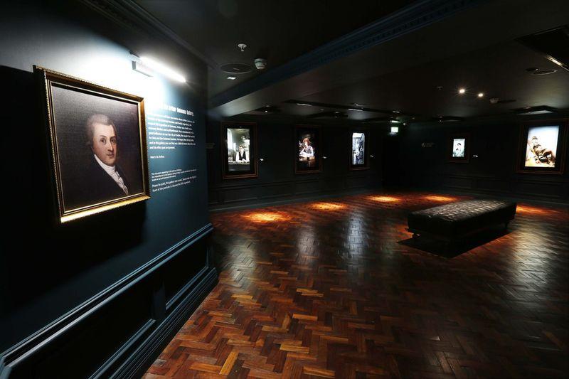 Guinness Storehouse. Arthur Guinness Gallery