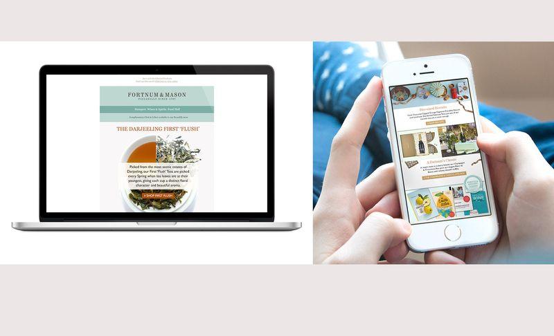 Email Design Fortnum & Mason