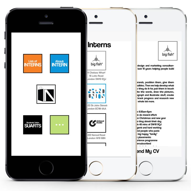IN -internship finder app-