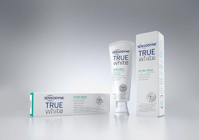 GSK Sensodyne True White Product Visuals