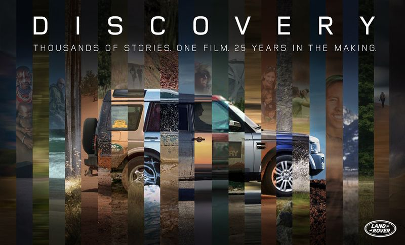 Land Rover - Never Stop Discovering