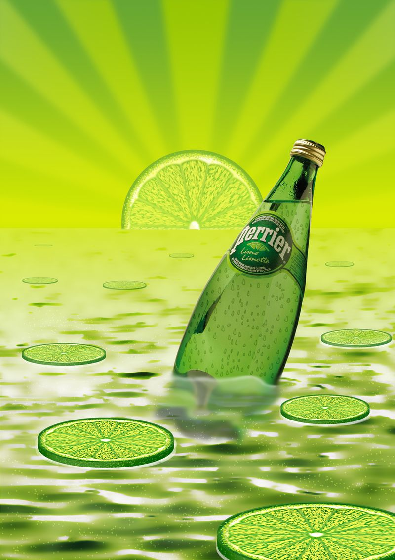 Lime Perrier Advertising Graphics