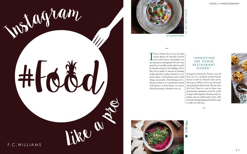 How to Instagram Food Like a Pro (Editorial Spreads)