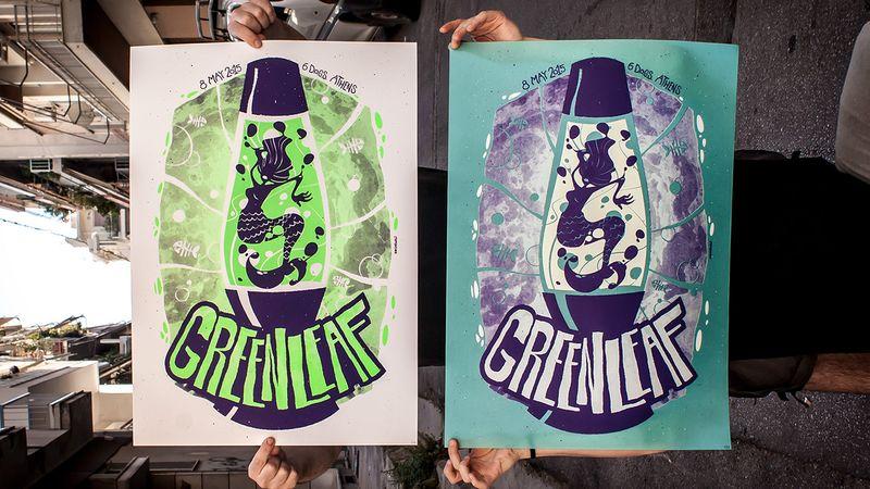 Greenleaf Gig Poster