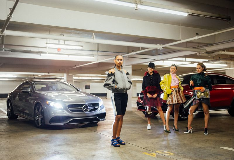 Mercedes-Benz x British Fashion Council - Style Battles by Ace Norton