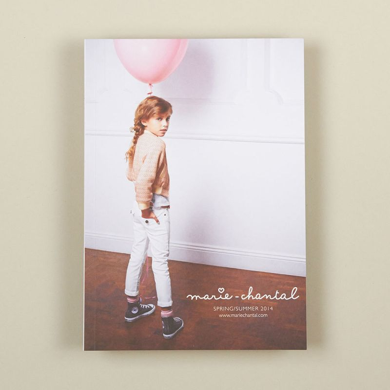 Marie-Chantal Children brochure design