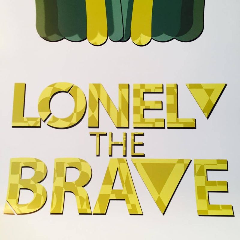 Lonely The Brave Advertisement Campaign