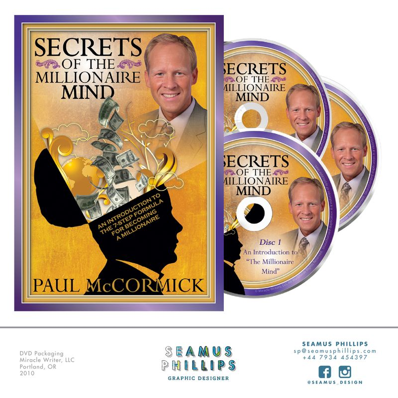 Secrets of the Millionaire Mind DVD Packaging