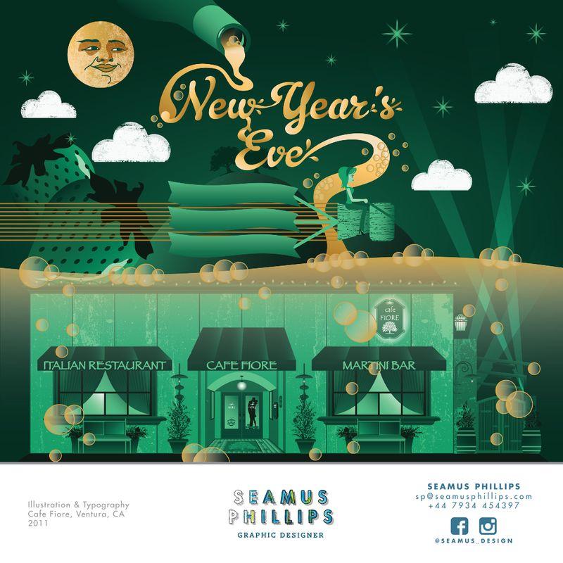 New Year's Eve Illustration