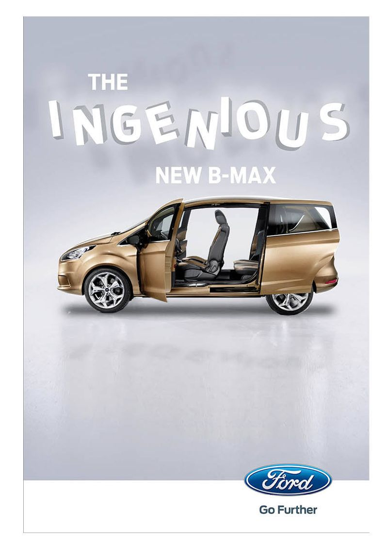 Ford B-Max Posters