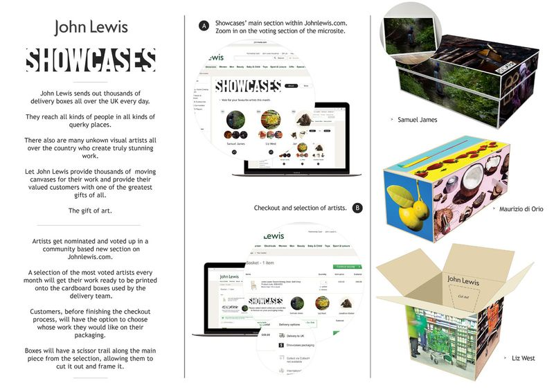 John Lewis D&AD Entry