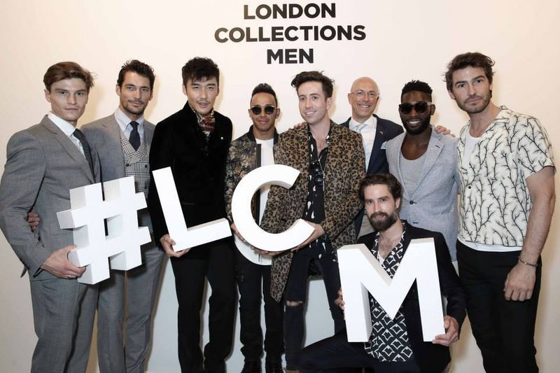 Events at London Collections Men SS16