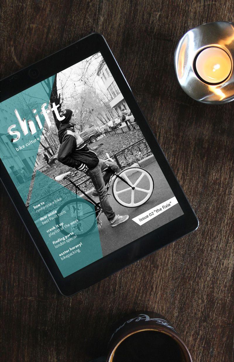 Shift - epublication - student work