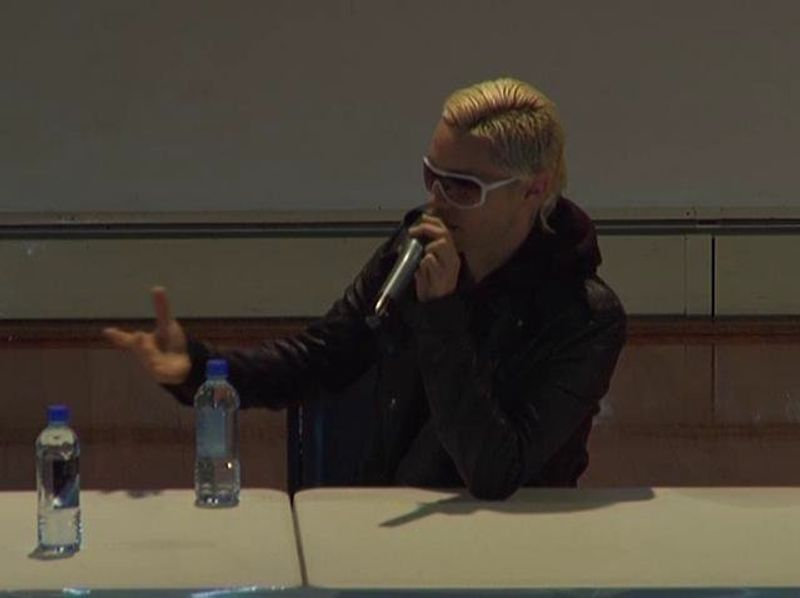 Promotions - 30 Seconds to Mars School Press Conference - New Zealand