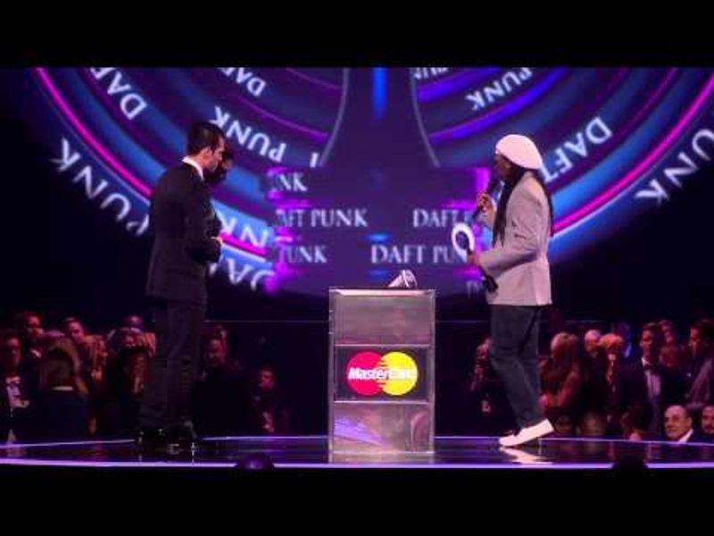 Daft Punk win International Group | BRITs Acceptance Speeches