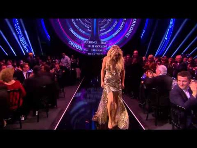 Ellie Goulding wins British Female Solo Artist | BRITs Acceptance Speeches