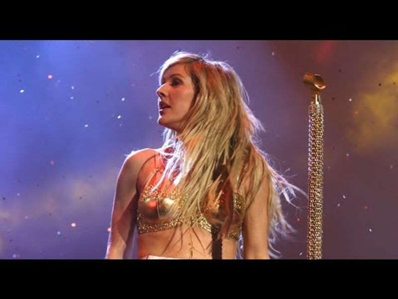 Ellie Goulding performs 'I Need Your Love/Burn' | BRIT Awards 2014