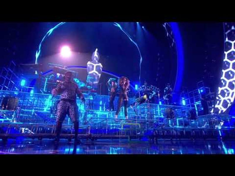 Bastille and Rudimental perform 'Pompeii/Waiting All Night' | BRIT Awards 2014